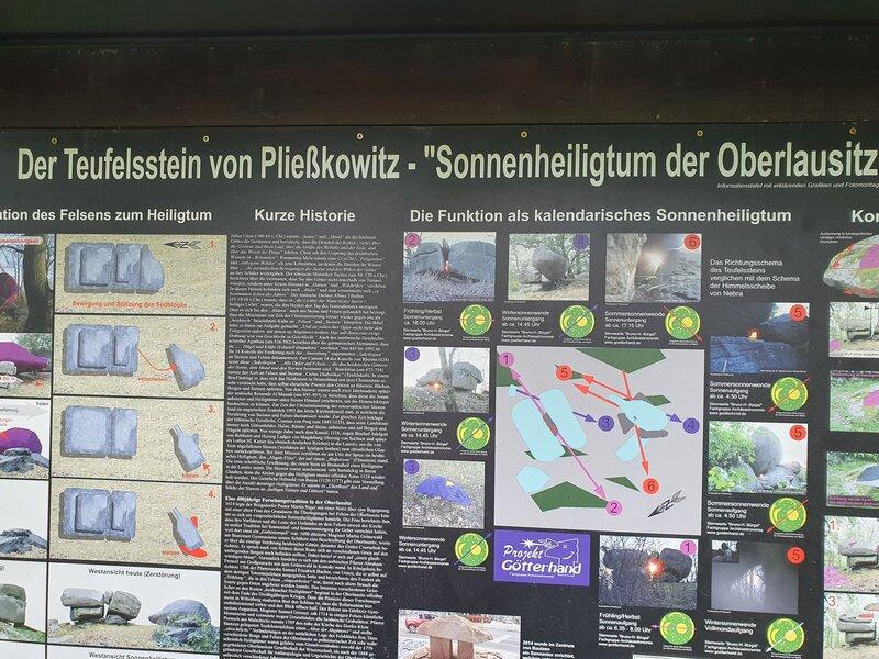 Sachsen Teufelsstein Umgebung vom Ferienhof